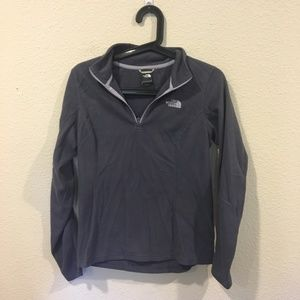 The North Face Sweaters - Northface purple navy half zip pullover fleece